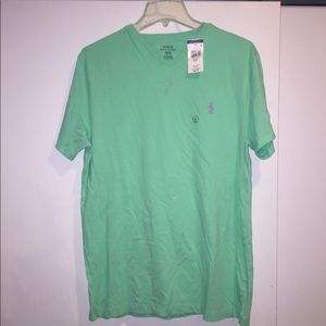 Brand New Polo V-Neck Shirt Short Sleeve NWT